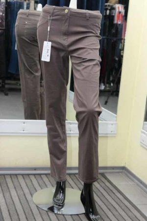 Зауженные арт.922 женские брюки, евро длина.